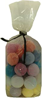 30 x Random Scented Bath Marbles Fizzers Mini Bombs (10g Each) Bag