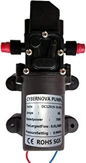 Bomba de agua principal de alta presión portátil del lavado auto 12V 6L //