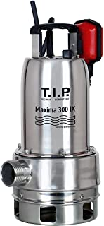 T.I.P. 30116 Bomba de inmersion para aguas residuales Maxima 300 SX acero inoxidable